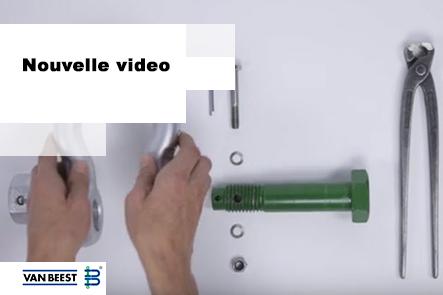 Manilles Green Pin® à écrou fixe