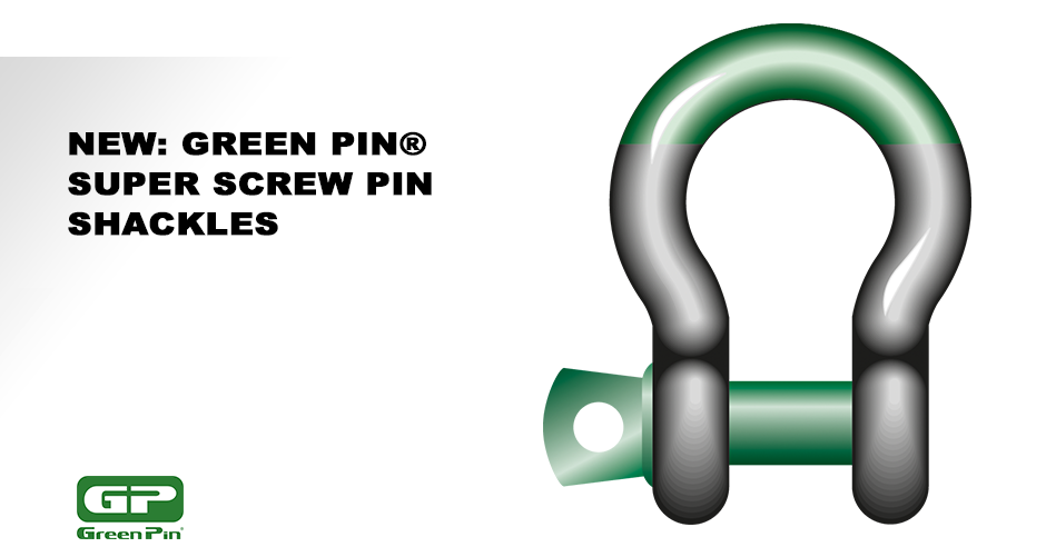Green Pin® Super Screw Pin Shackles