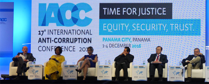 Image of plenary at IACC, by Lucia He