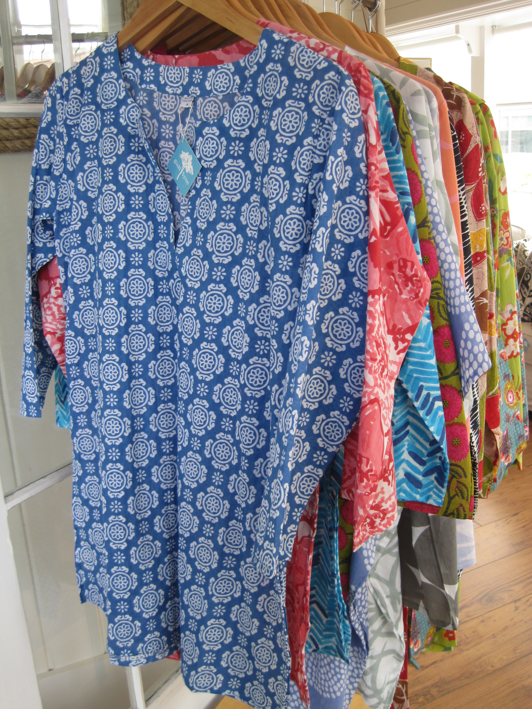 cotton printed tunics