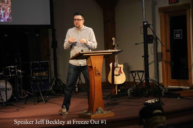 Speaker Jeff Beckley at Freeze Out #1