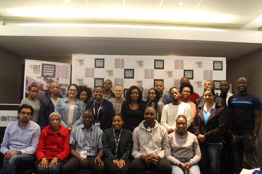 PGA members with the attendees of the Peace Workshop