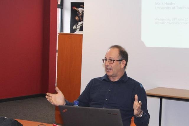 Professor Mark Hunter