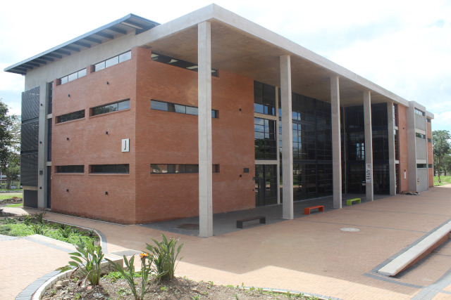 DUT's new state of the art library.