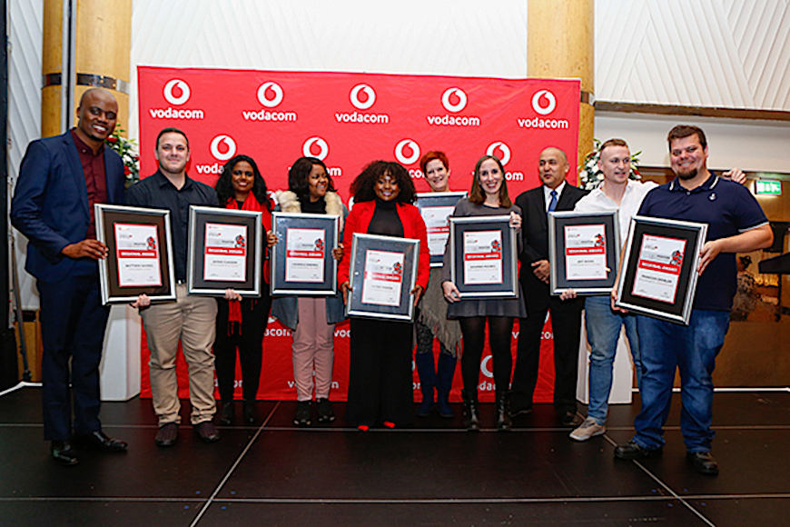 The vodacom journalist of the year awards