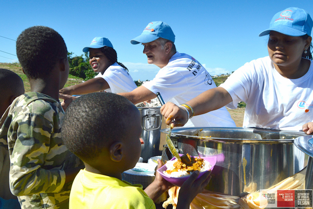 DUT PHOTOGRAPHY STUDENTS FEED THE HUNGRY