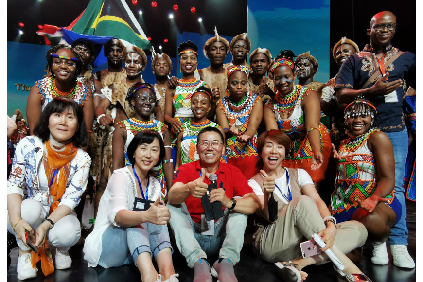 DUT DRAMA STUDENTS SHINE AT THE 11TH CHINA INTERNATIONAL FOLK ARTS FESTIVAL