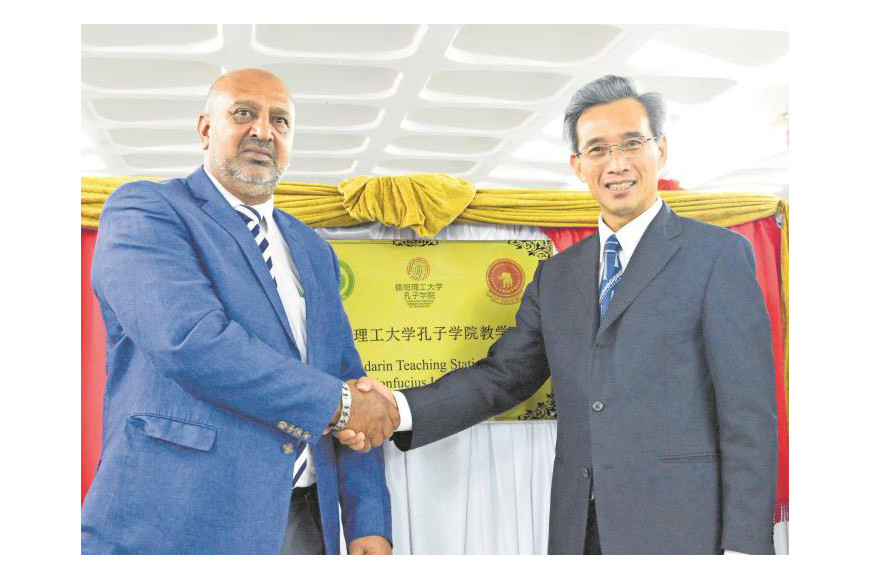 CLAIRWOOD SECONDARY RECEIVES MASSIVE CASH INJECTION FROM CHINA