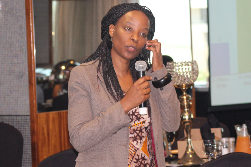 PROFESSOR MOYO HIGHLIGHTS RESEARCH PLANS FOR 2020 AT STAKEHOLDERS ENGAGEMENT