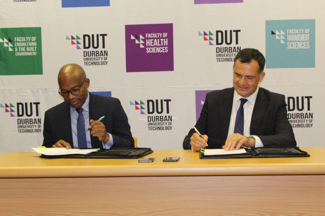 MoU between DUT and the French Embassy