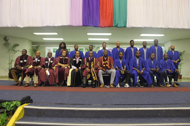 DUT Executive Management together with SRC members during the SRC inauguration.