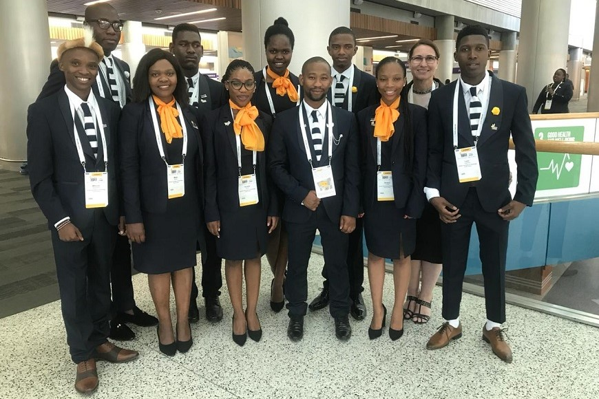 ENACTUS DUT REACH FINALS AT THE ENACTUS WORLD CUP IN USA