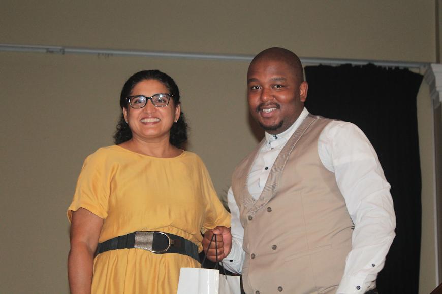 Ayesha Mall and Mfundo Mabaso