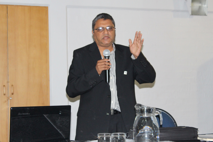 DR THAKUR IS APPOINTED INSETA RESEARCH CHAIR AT DUT