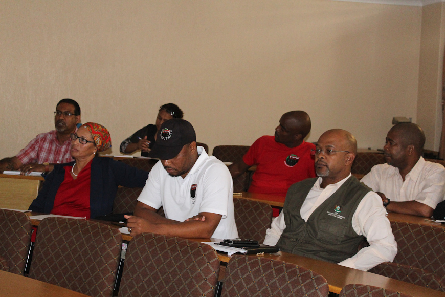 DUT Union representatives