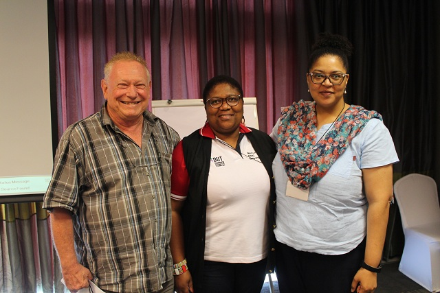 Prof Michael Chapman, Dr Maleshooane Rapaene-Mathonsi and Dr René Alicia Smith