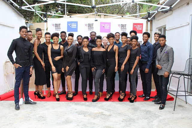 The finalists of the Mr and Miss DUT Competition