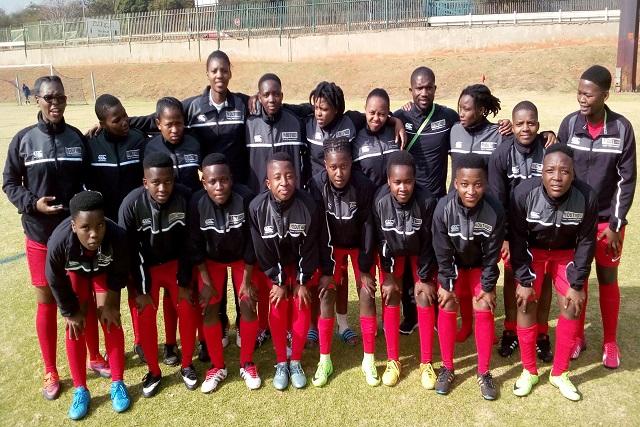 DUT Ladies Football team.