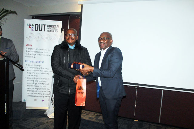 Dr M Mandew and Prof T Mthembu