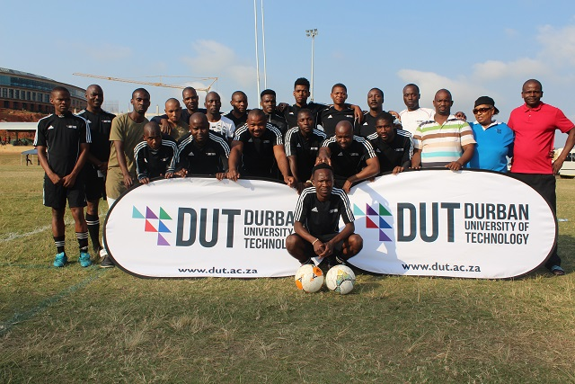 DUT sports team and its executive committee.