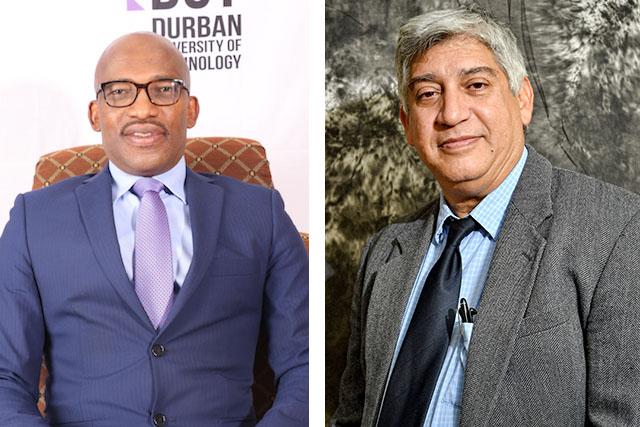 Prof Mthembu and Prof Bawa
