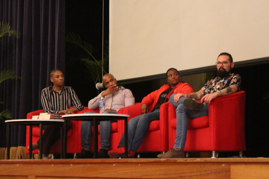 Some of the speakers at the LGBT Awareness Dialogue