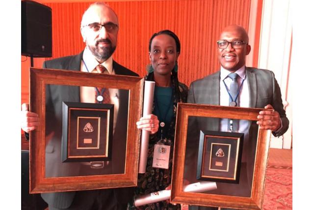 Prof Bux, Prof Moyo, Prof Mthembu