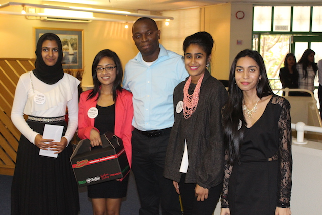 Aaminah Ally, Yolisha Baboollall, Dr Oluwatosin Ijabadeniyi, Shamshaad Edoo and Kirthi Maharaj,