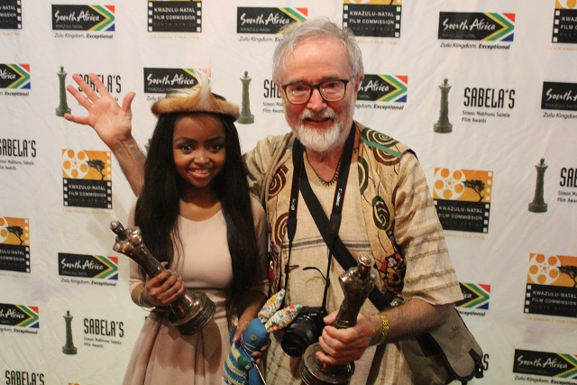 Ayanda Mngoma and Dr Mikhail Peppas