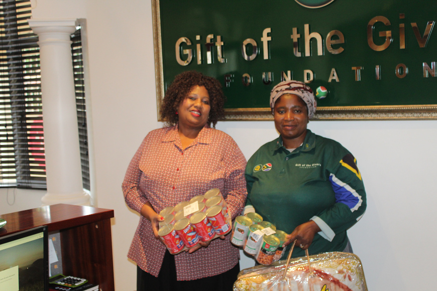 Gift of the Givers representatives