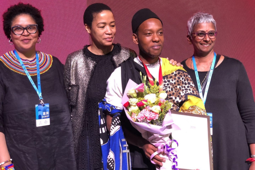 DUT'S FASHION AND TEXTILE'S NSELE WINS 6TH INTERNATIONAL YOUTH DESIGN COMPETITION