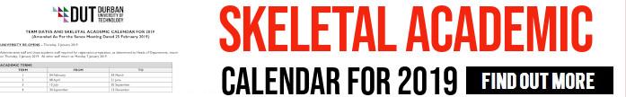 Skeletal Calendar 2019