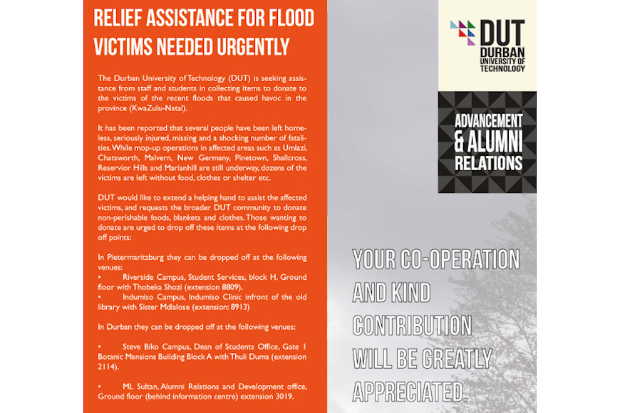 Relief Assistance for Flood victims