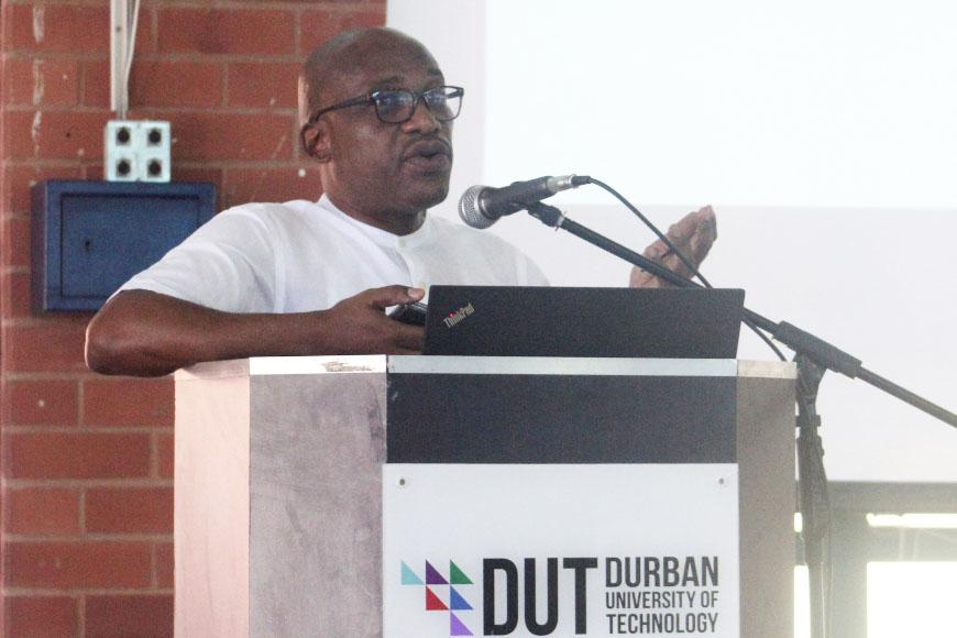 Prof Mthembu at Strat Plan