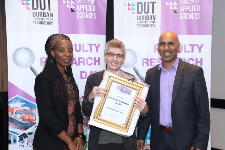 DUT'S FACULTY OF APPLIED SCIENCES HOSTS A SUCCESSFUL FACULTY RESEARCH DAY