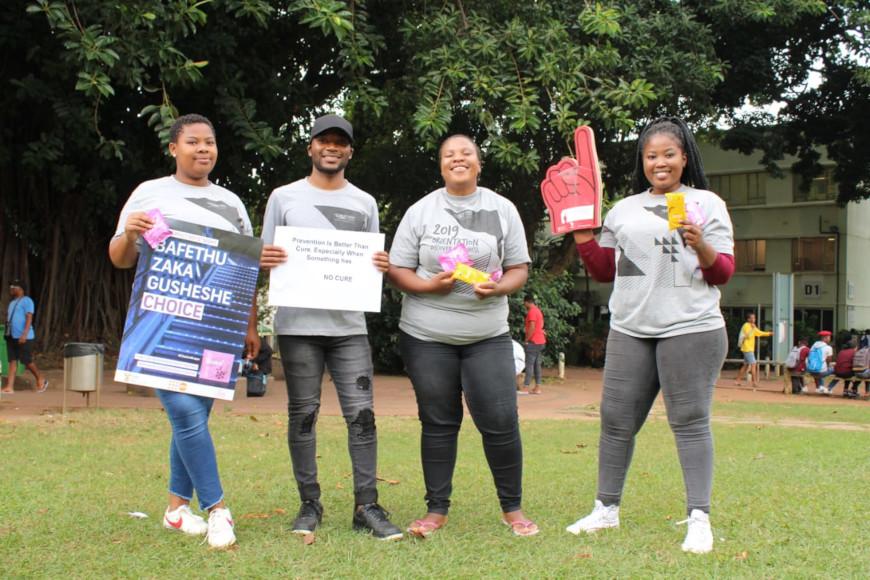 HIV/AIDS awareness team