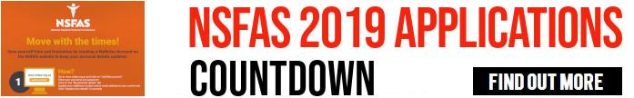NSFAS applications countdown
