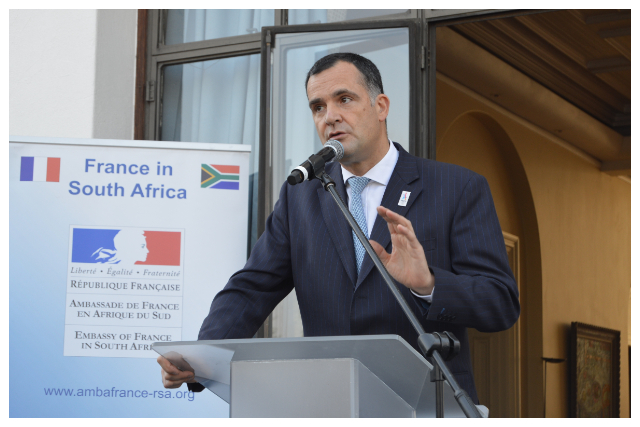 Ambassador of France to South Africa, H.E. Mr. Christophe Farnaud.