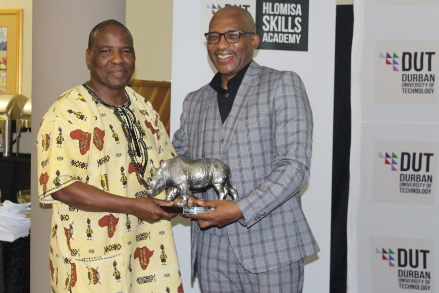 DUT VICE-CHANCELLOR AND PRINCIPAL LAUNCHES NEW SKILLS ACADEMY