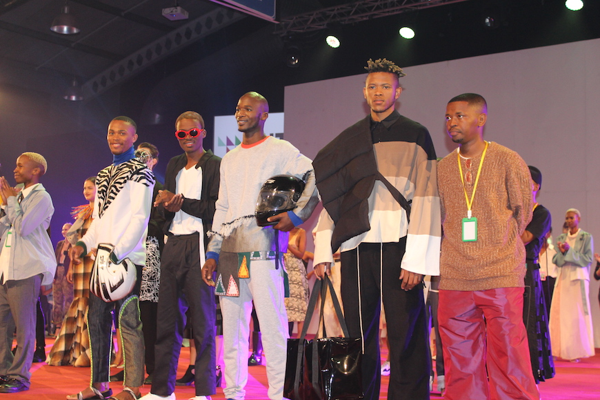 DUT FASHION STUDENTS SHOWCASE THEIR EXCELLENT DESIGNS ON DAY ONE OF THE FASHION SHOW