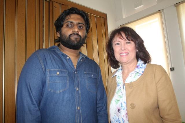 Adhikwir Singh and Wendy Rawlinson