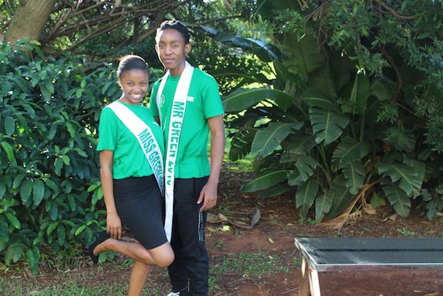 Snethemba Madlala (Miss DUT GCI) and Brian Ndimande (Mr DUT GCI)