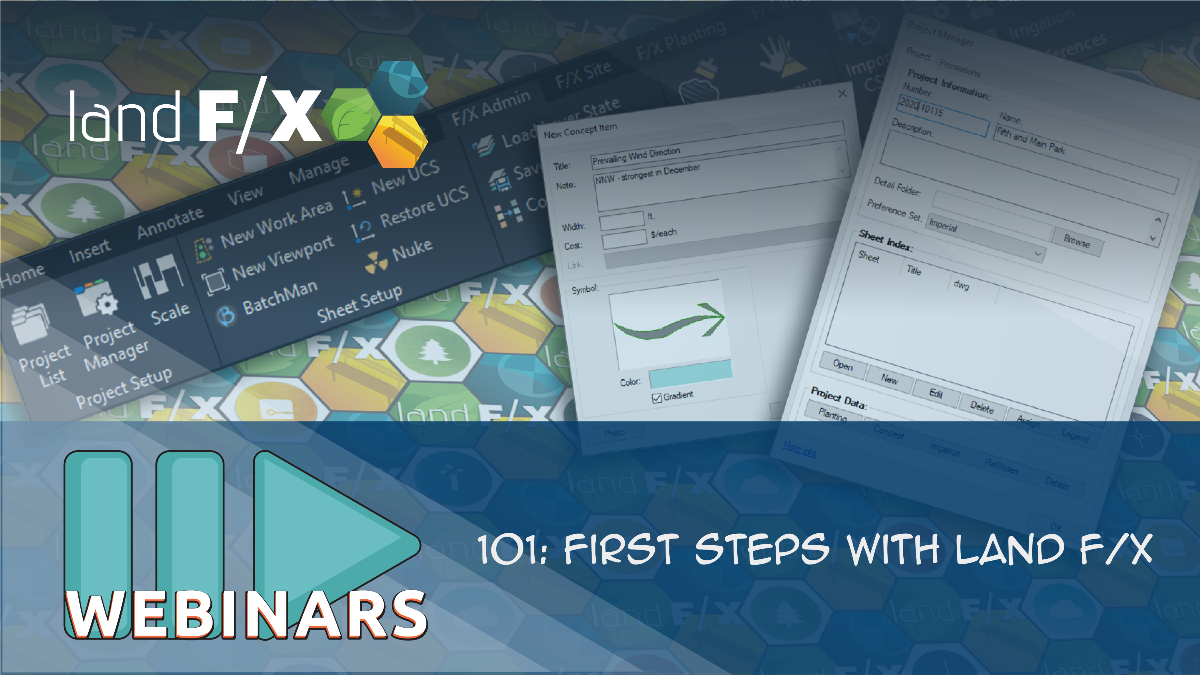 Recorded Webinar: 101: First Steps with Land F/X