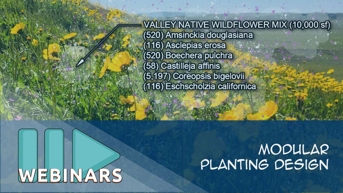 Webinar: Modular Planting Design