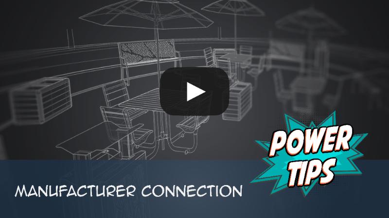 PowerTip: Manufacturer Connection