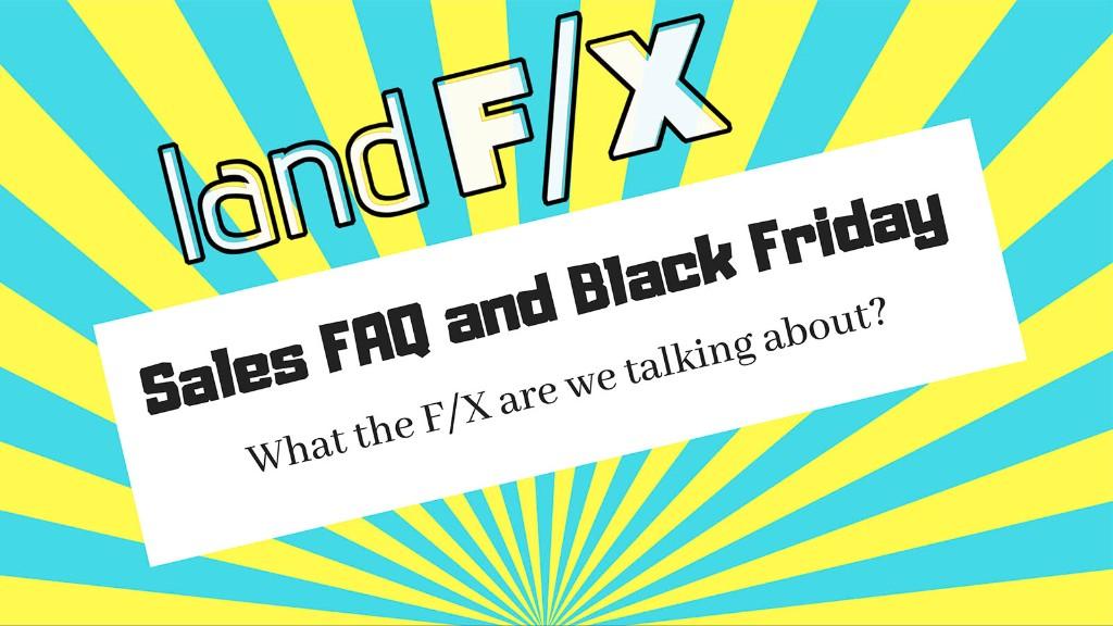 Webinar: Sales FAQ & Black Friday
