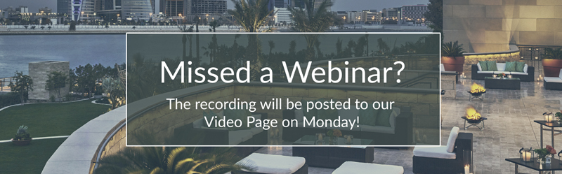 Missed a webinar? Image/Button