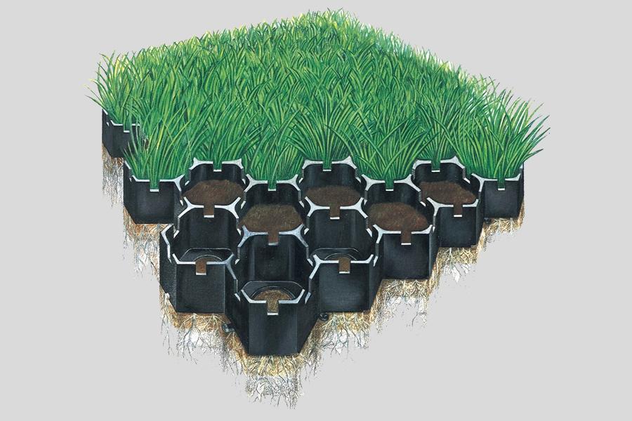 New Product: Grass-Cel Paving Blocks
