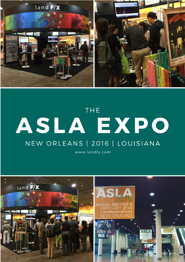 ASLA Expo 2016 New Orleans Photo Collage