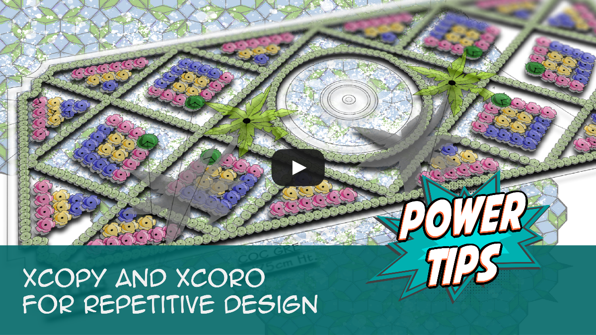 Power Tip: XCOPY and XCORO for Repetitive Design